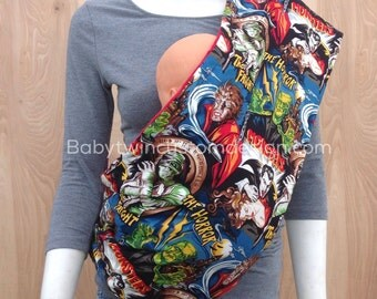 Sling Baby Carrier- Monsters