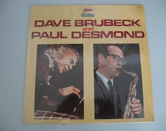 Italian Pressing! - Dave Brubeck And Paul Desmond - Giants Of Jazz - Circa 1984