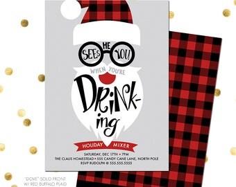 Dirty Santa Invitation Wording Secret Santa Invitation Dirty Santa
