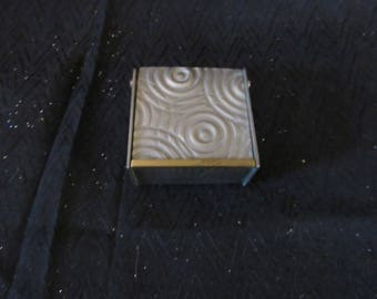 Vtg Jon Michael Route Pewter Trinket Box Hand Crafted Rare Signed 90's