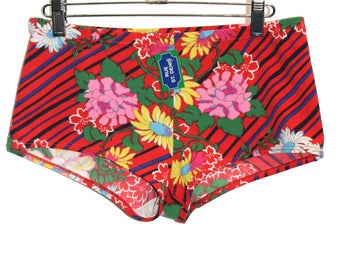 MEN'S FLORAL SWIMSUIT