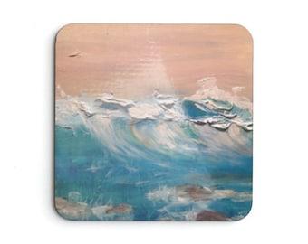 Meditation Wave Coaster