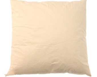 """Cushion pillow feather inner, 18"""" 45cm for use with VintageHighSt's cushion covers"""