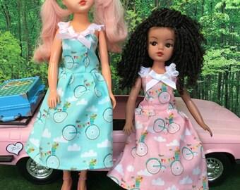 Summer dress for Barbie, Sindy, Princess dolls and friends.