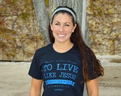 CLEARANCE Ladies and Young Women Christian Shirts - MEDIUM - Established Before Time - TShirts, Clothing, & Apparel Inspired by Jesus Christ