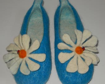 Felted Wool Slippers, made in SCOTLAND, Edinburgh