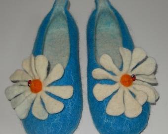 Felted Wool Slippers, made in SCOTLAND, Edinburgh