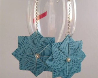 Origami earrings, lullaby