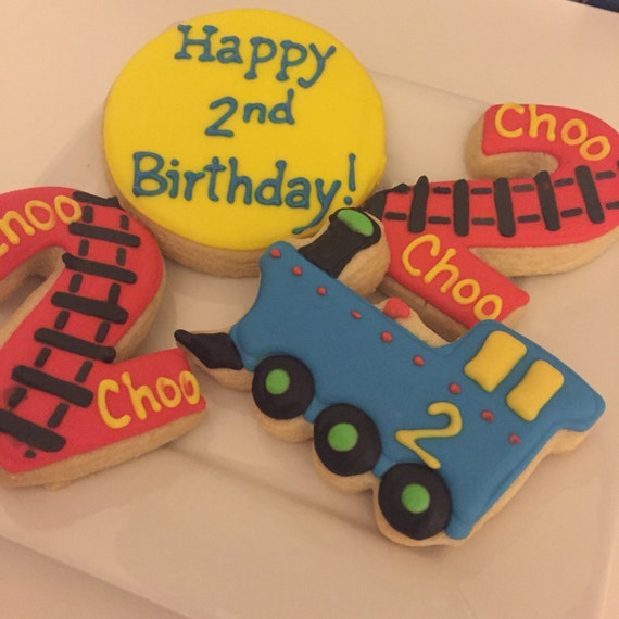 Train Cookie Set