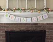 Easter Banner Easter Garland Spring Banner Easter Decor Easter Decoration