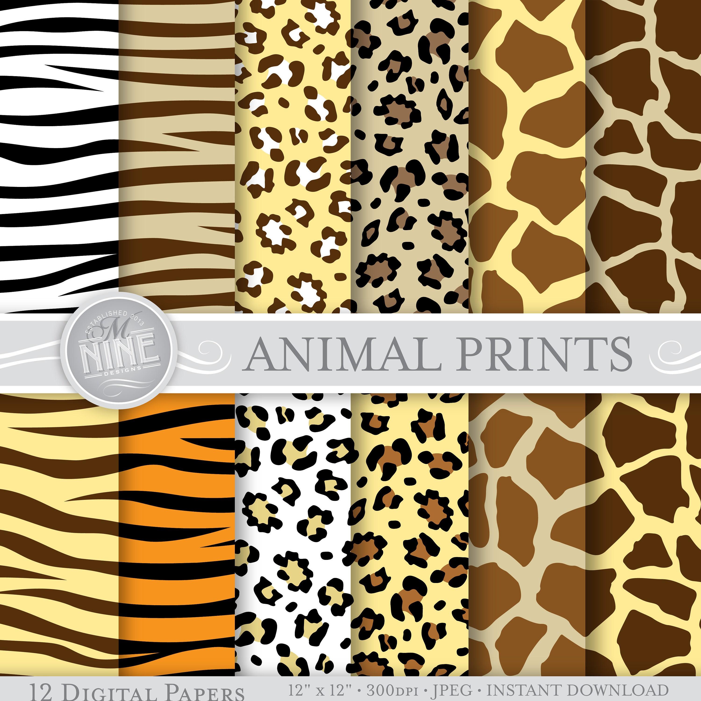 wild animal print wallpaper - photo #26