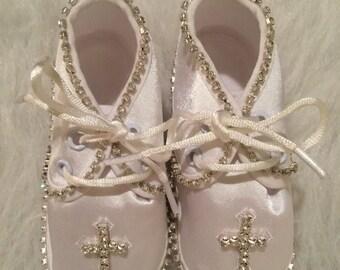 Christening/Baptism infant boy shoes