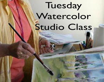 Watercolor Tuesday Jan 16th -  Loveland, CO. Pick morning, afternoon, evening.