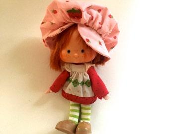 Strawberry Shortcake Vintage Doll 1979 American Greetings