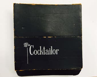 The Cocktailor by Indiana Glass Company 1950's Vintage Bar Cocktail Set