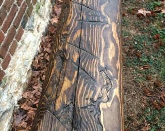 Yellow Pine Beam/Mantle