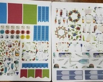 Happy Hour Weekly Planner Kit