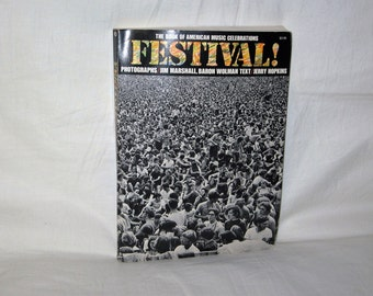 vintage 1970 first edition the book of american music celebrations festival