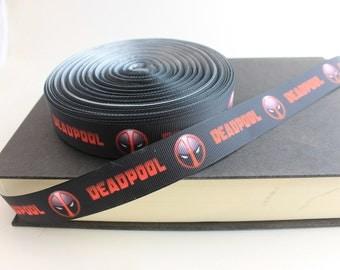 "7/8"" Movie Grosgrain Ribbon for Sewing/Garment/DIY Hair Craft"