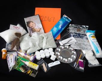 Newborn Reborning Supply Kit Beginner Doll Kit with DVD 2263