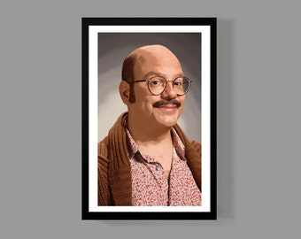 Arrested Development: Tobias Funke Custom Poster Print - Portrait, Cult Classic, Comedy, TV, Funny, Quirky