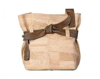 Pure Cork Woman HandBag - FREE SHIPPING WORLDWIDE -  Vegan Eco-Friendly Mothers day Gift Idea