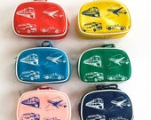 Vintage & Retro Handbags, Purses, Wallets, Bags Change Purse Zipper Vinyl Pouch Vintage Coin Purse Fun Coin Pouch Childrens Coin Purse Dime Store Money Wallet Travel Gift $16.50 AT vintagedancer.com