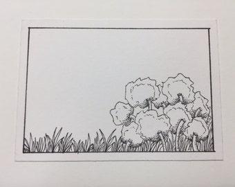 Original pen & ink ACEO by 70ms