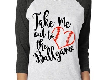 Take Me Out To The Ballgame Shirt