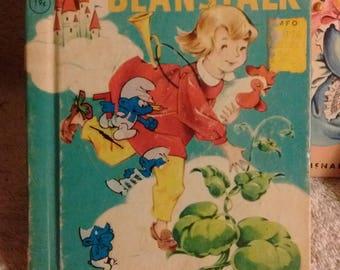 Rand Mcnally Junior Elf books, Jack and the Beanstalk 1951, Peter Rabbit 1953