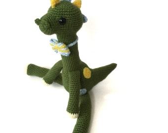 Dinosaur Baby Shower Gift Amigurumi Dinosaur Crochet Dinosaur Crochet T- Rex Doll Toy Kids Toy Nursery Decor Birthday Gift for Kids