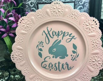 Decorative Easter Plate