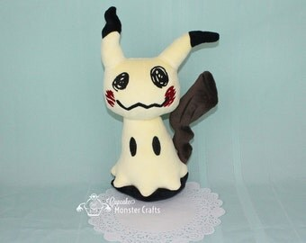 MADE TO ORDER--  Hand Made Super Soft Mimikyu Pokemon Plush