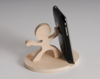 mobile wooden stand