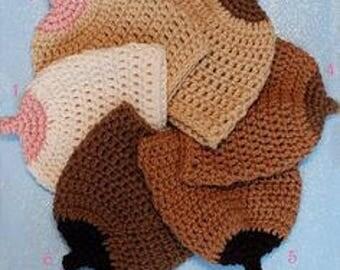 Boob Beanie Handmade Crochet Hat
