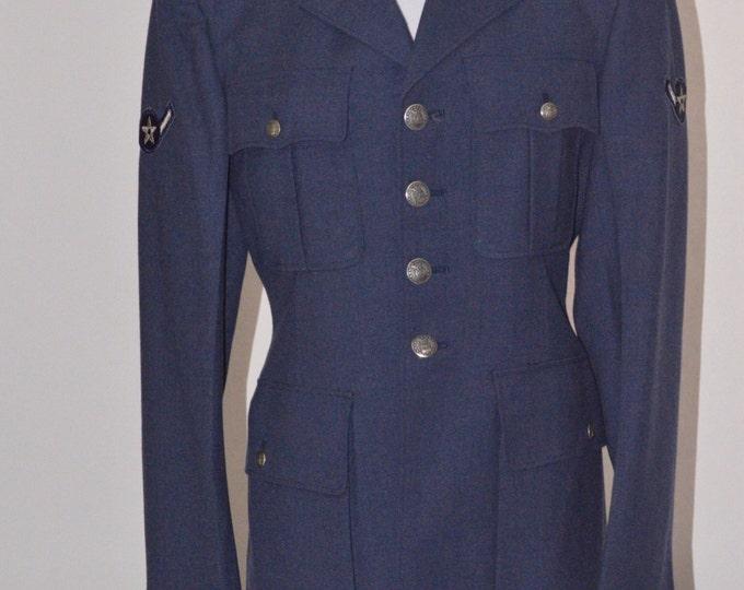 Vintage Estate Airforce Dress Blue Blazer