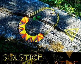 AZTEC / SOLSTICE necklace