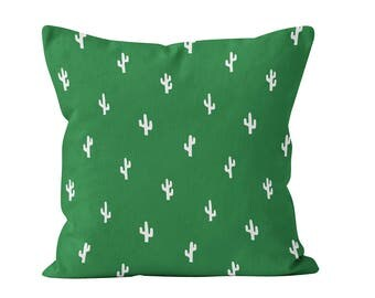 45 colors Cactus Pillow Cover, Cactus Home Decor, Desert Pillow Cover Home Decor, Green Botanical Tropical Nursery Pillow Cover Decor