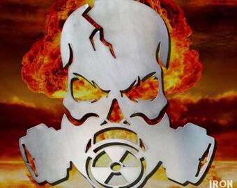 Gas Mask Apocalypse Skull