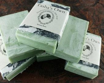 Spring Rain, All Natural Goat's Milk Soap, Tasha's Own Handmade Goat Milk Soap, Fresh Scent, Farmhouse Soap, French Clay Soap