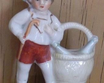 Cute Vintage German Figurine!