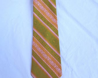1960's Men's Wemlon Wide Tie