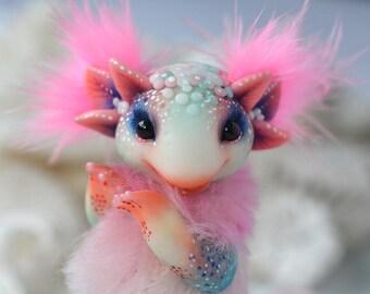 Pink Axolotl Etsy