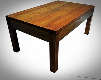 Handmade Recycled pallet coffee table 7