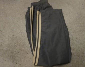 All American Comfort Grey Track/Active Wear Pants W/ Yellow Stripes (18T)