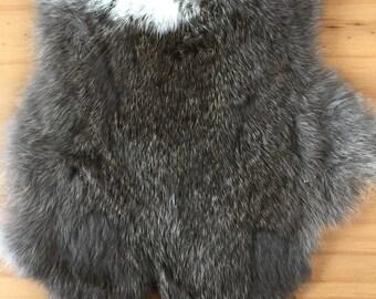 Dark Brown Rabbit Pelt ~ Crafts ~ Taxidermy
