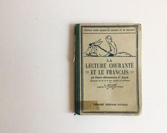 French Vintage Children's Books - French Books - Children's Books - French Decor - Rustic French Decor - French Children's Books