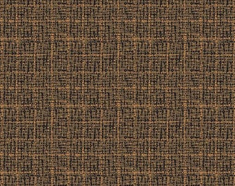 Brown Dotted Plaid, A-8324-N cotton fabric, Outlander by Andover Fabrics