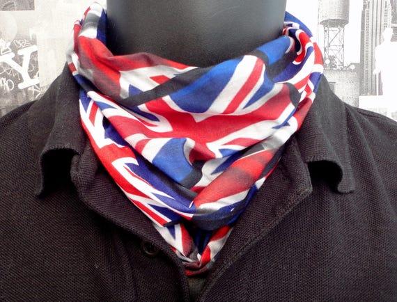 Union Jack neck tube