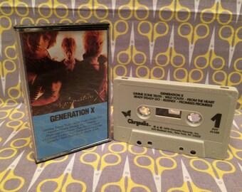 Generation X by Generation X Cassette Tape punk rock Billy Idol